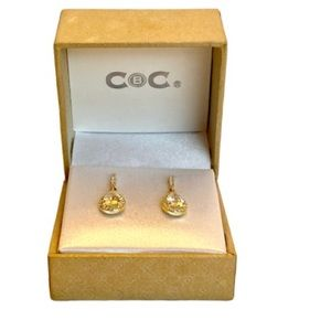 CBC Gold-Tone Earrings